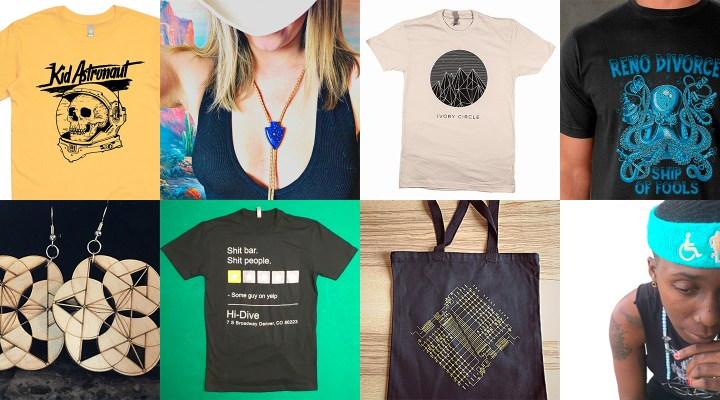 Denver Area Bands & Venues To Buy Merch From