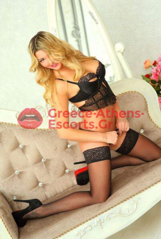 ATHENS ESCORT CALL GIRL KARINA BLONDE