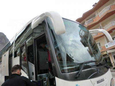 イオアニナ行きのバス