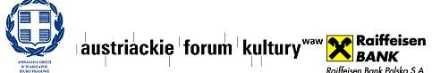 LOGO AMBASADA GRECJI BIURO PRASOWE austriackie forum kultury WAW