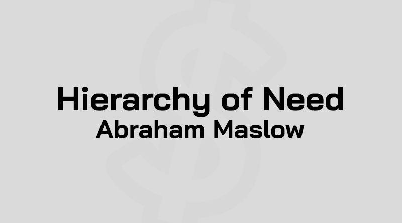 ทฤษฎีมาสโลว์ คือ ทฤษฎีความต้องการของมาสโลว์ Maslow Hierarchy of Need คือ ทฤษฎี Maslow