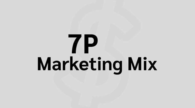 7P คือ Marketing Mix 7Ps คือ การตลาด บริการ ที่เพิ่ม 4P