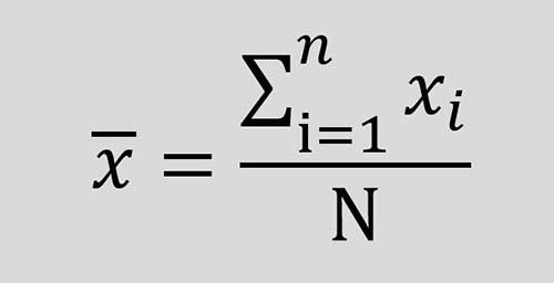 วิธีหา X Bar ค่าเฉลี่ยกลุ่มตัวอย่าง ค่าเฉลี่ย X Bar
