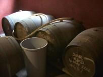 Experimental beers made in wine barrels