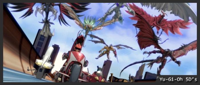 Yu-Gi-Oh 5D's Σεζόν 1 / 2 / 3
