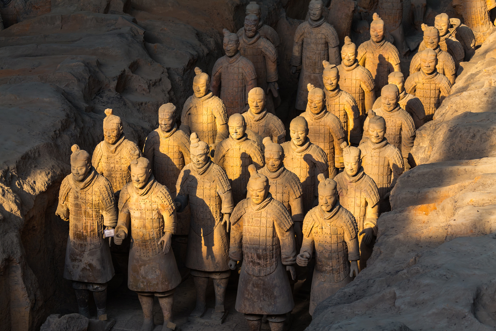 Terracotta Warriors may have come from Ancient Greece