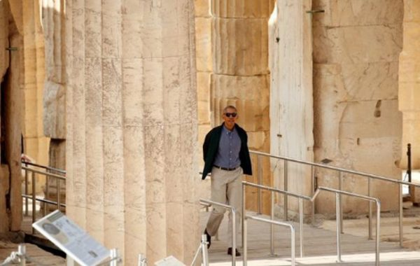 Dear President #Obama , enjoy #Acropolis for your eyes only…