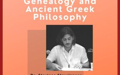 Greek Ancestry Summer Webinar #2: Prof Stasinos Stavrianeas