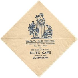Elite cafe serviette