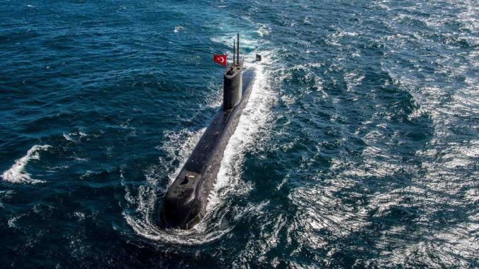 Aegean Tensions: Turkish submarine had difficult night surrounded by Greek helicopter & stealth submarine 1