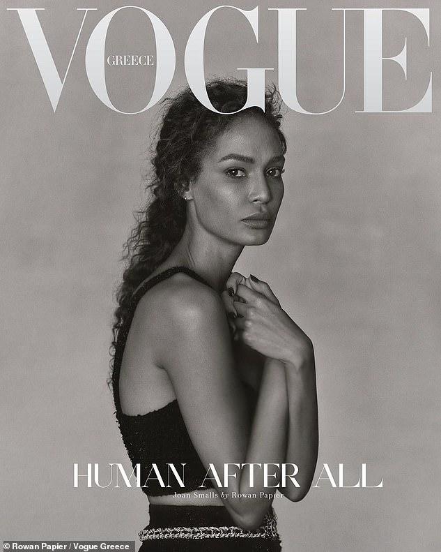 Irina Shayk, Joan Smalls et Candice Swanepoel grâce à la couverture 3 de Vogue Grèce