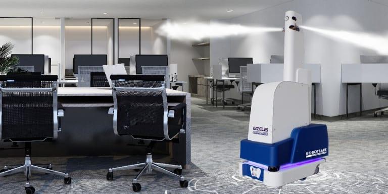 "RobotSafe, The first ""Made in Greece"" autonomous robot"
