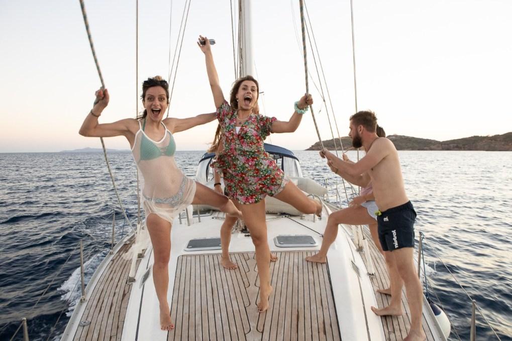 Greek island hopping- Kea island sailing