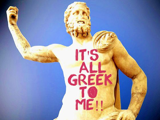 20 Everyday English Phrases, Sayings and Idioms With Greek Origins