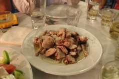 I don't love octopus really - but this was different. A wonderful marinade and it was so tender!