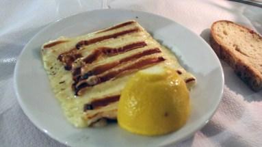 First time I had grilled saganaki--nice!