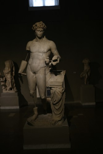 Apollo Kitharoidos from the theater in Salamis, 2nd C CE