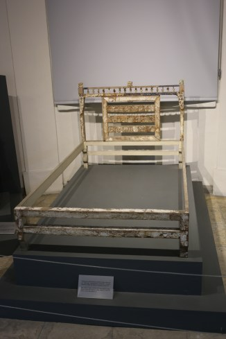 Bed made of wood and ivory from Salamis (Tomb 79), end of the 8th c BCE