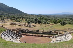 The theater of ancient Messene