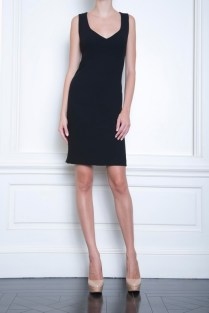 Celia Kritharioti black short dress