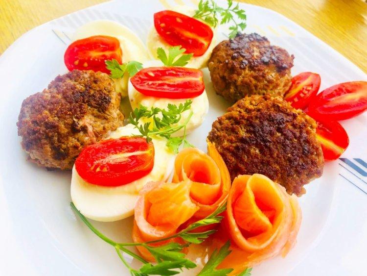 Mutton burgers