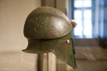 Bronze helmet