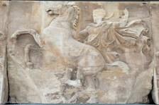 Parthenon frieze detail at the Acropolis Museum