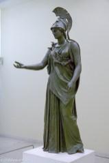 Piraeus Athena bronze statue