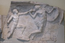 Statue at the Archaeological Museum of Piraeus