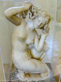 Rhodes Venus marble statue