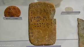 Tablet with Linear A