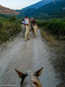 Horseback riding in Kefalonia