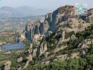 Monasteries on top of Meteora rocks