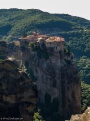 Verlam Monastery on top of Meteora rock