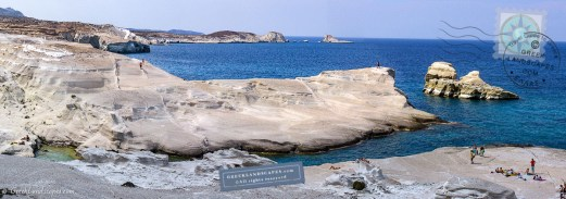 Panoramic view of Sarakiniko