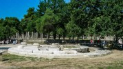 Philippeion ruins at Olympia