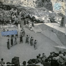 Ancient play in the ancient theatre of Delphi