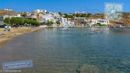 Clear waters in Faros beach