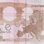 Photo of 10 Euro specimen