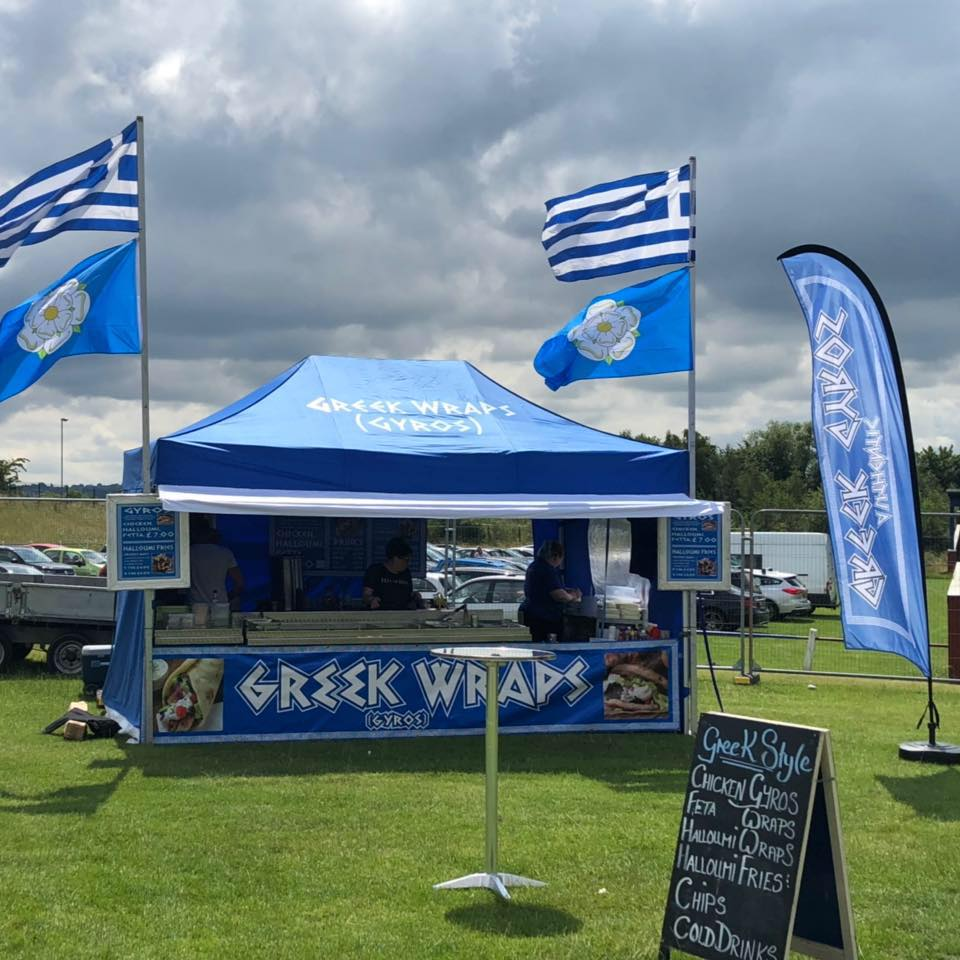 Greek Wraps Catering Hire Background