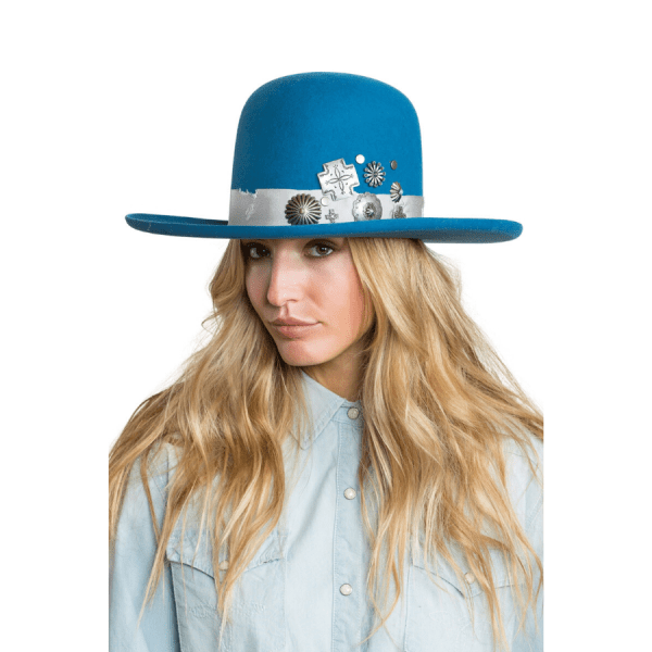 Greeley Hat Works Double D Ranch Old Pawn Denim