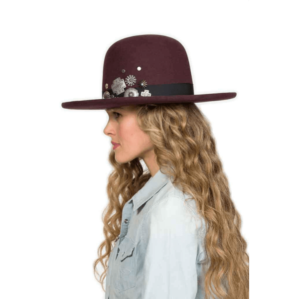Greeley Hat Works Double D Ranch Old Pawn Oxblood