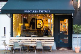 Meatless District Vegan Restaurant Amsterdam West Front