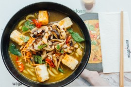 Wagamama new vegan menu Green Amsterdam