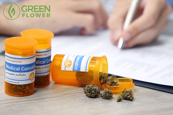 doctor writing on prescription