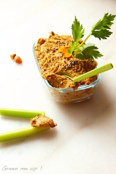 paté légumes noix curcuma omega 3