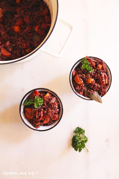 recettes d'automne au vin rouge