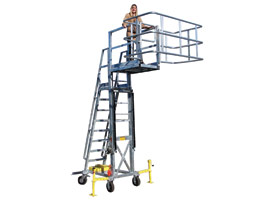 Portable Access Units | Provide safe access and fall protection while atop tank and bulk trucks.