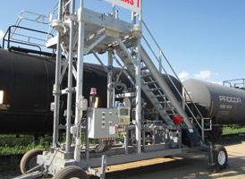 Portable Transloading Platforms by GREEN   440-934-2180