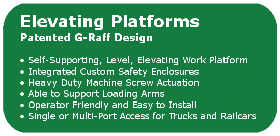 The G-Raff Elevating Platform by GREEN | USA Made!